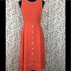 Donna Karan Sleeveless Fit and Flare Dress
